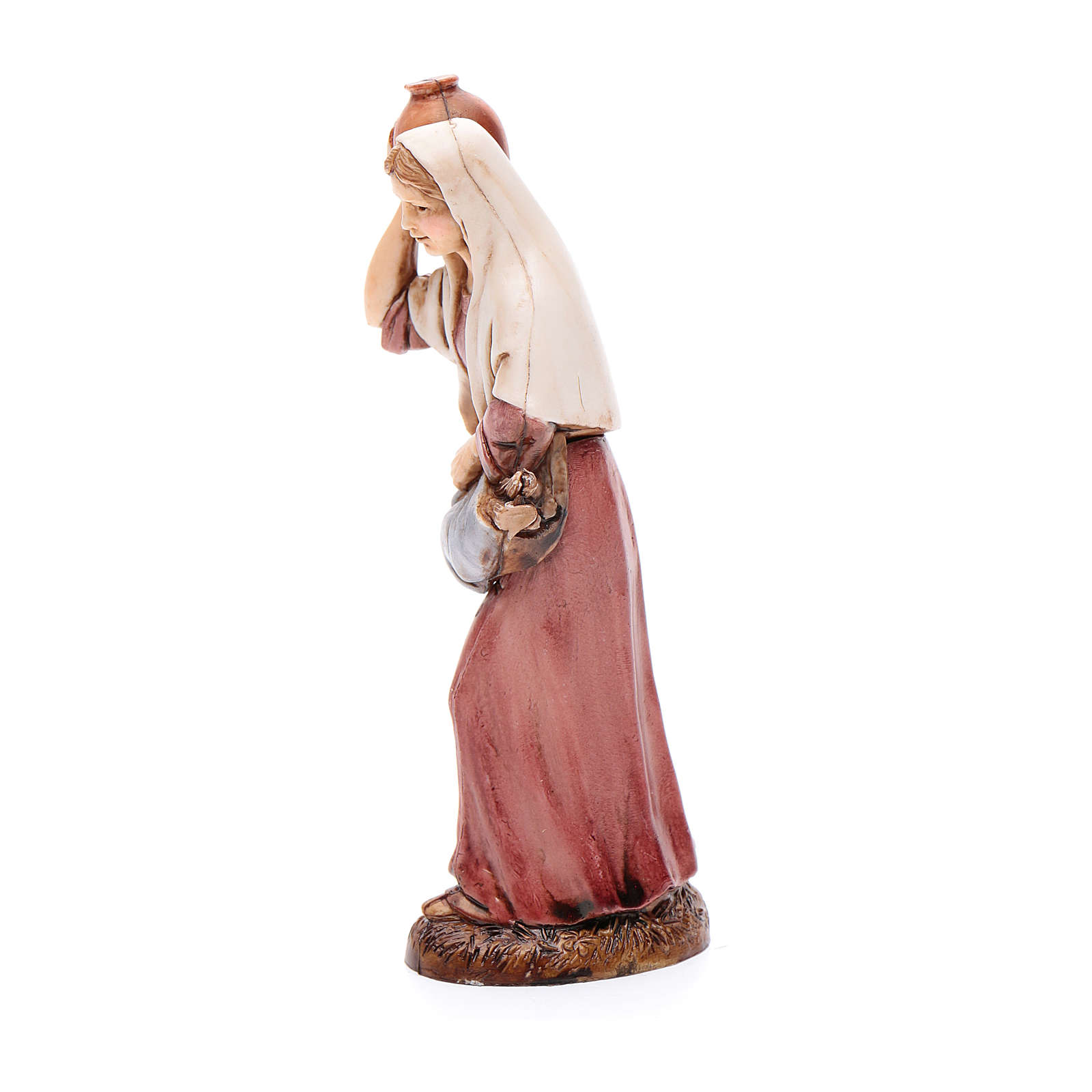 Farmer woman with jug 12cm by Moranduzzo, classic style 4
