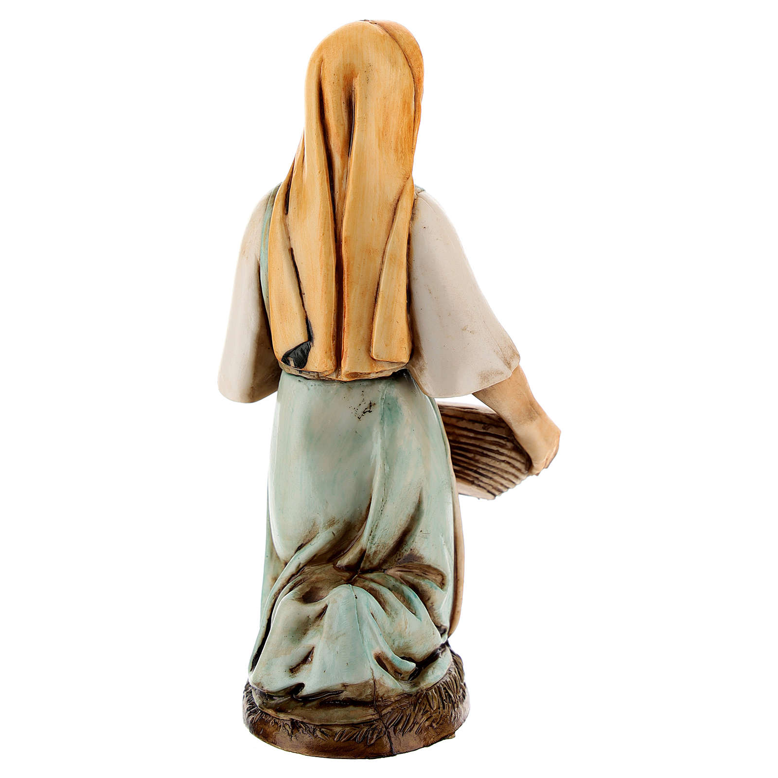 Figura lavandera 12 cm Moranduzzo estilo clásico 4