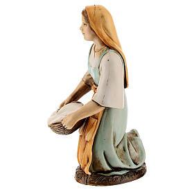 Figura lavandera 12 cm Moranduzzo estilo clásico s2