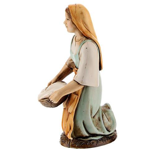 Figura lavandera 12 cm Moranduzzo estilo clásico 2
