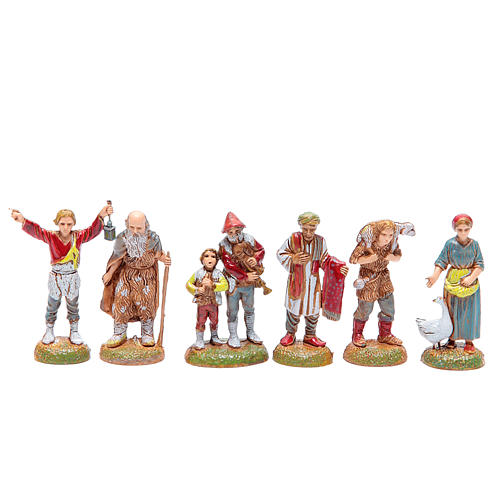 Assorted shepherds, 6cm by Moranduzzo 1