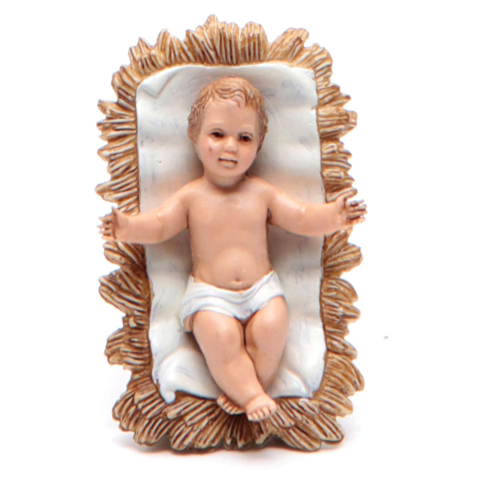 Figura Niño Jesús 10 cm belén Moranduzzo 4