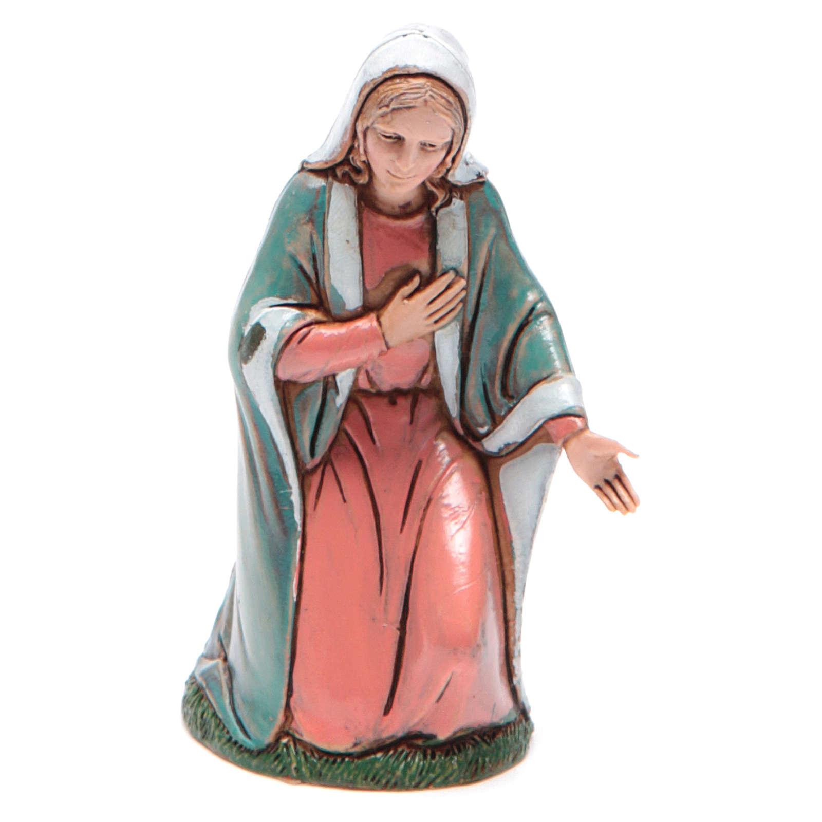 Sainte Vierge 10 cm Moranduzzo style XVIII siècle 4
