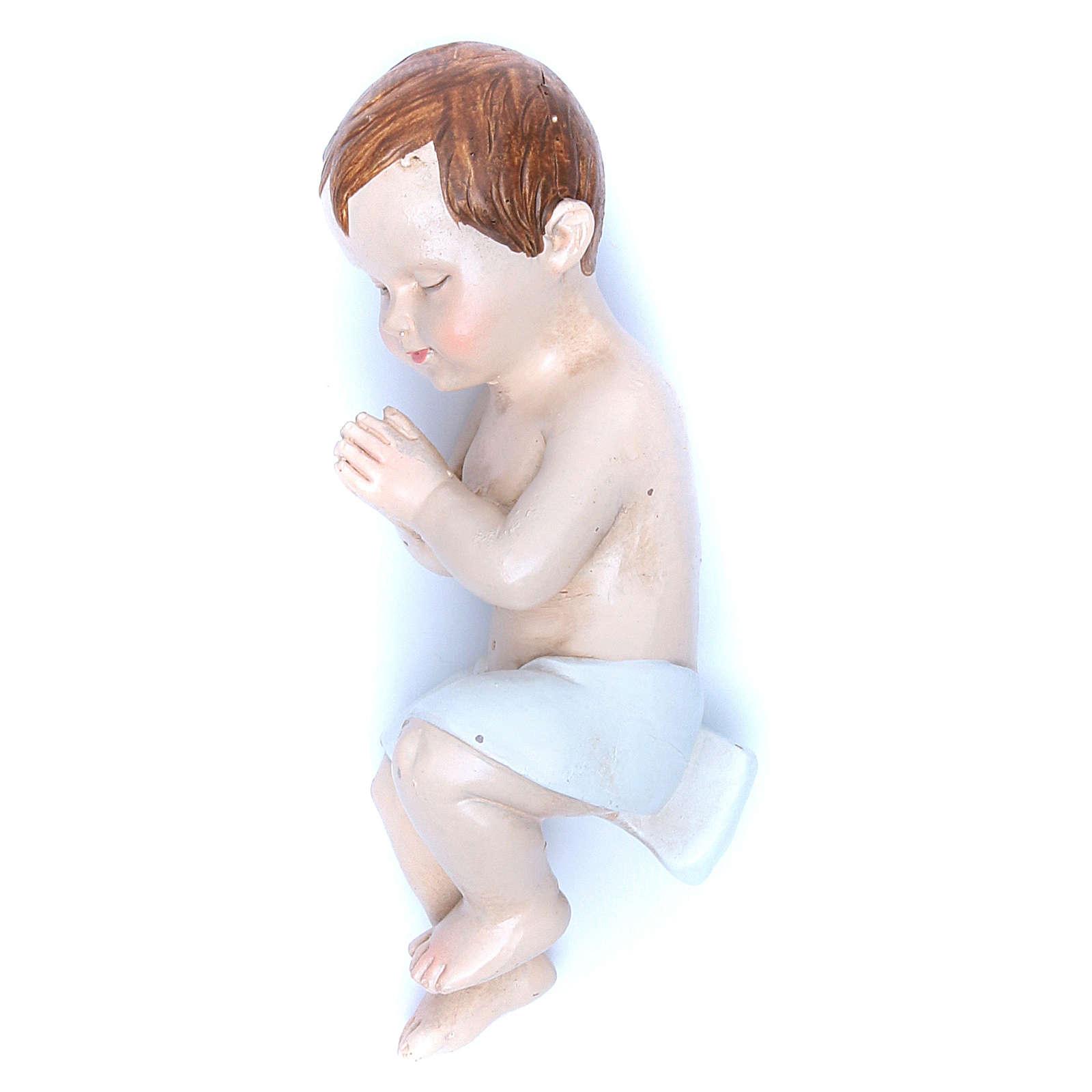 Enfant Jésus résine 50 cm gamme Martino Landi 3