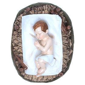 Gesù Bambino resina 50 cm Linea Martino Landi s2