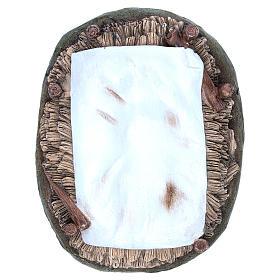 Gesù Bambino resina 50 cm Linea Martino Landi s5