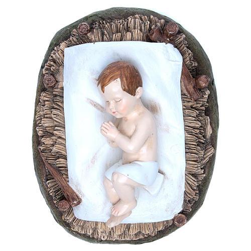 Gesù Bambino resina 50 cm Linea Martino Landi 2