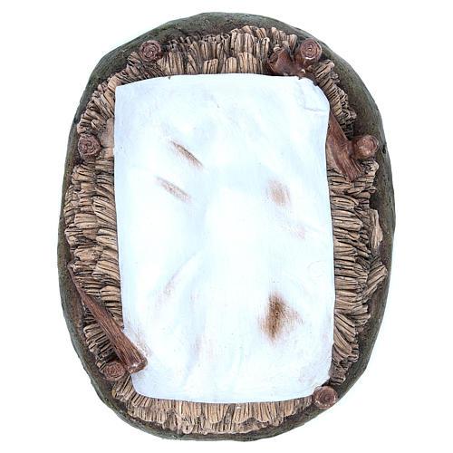 Gesù Bambino resina 50 cm Linea Martino Landi 5
