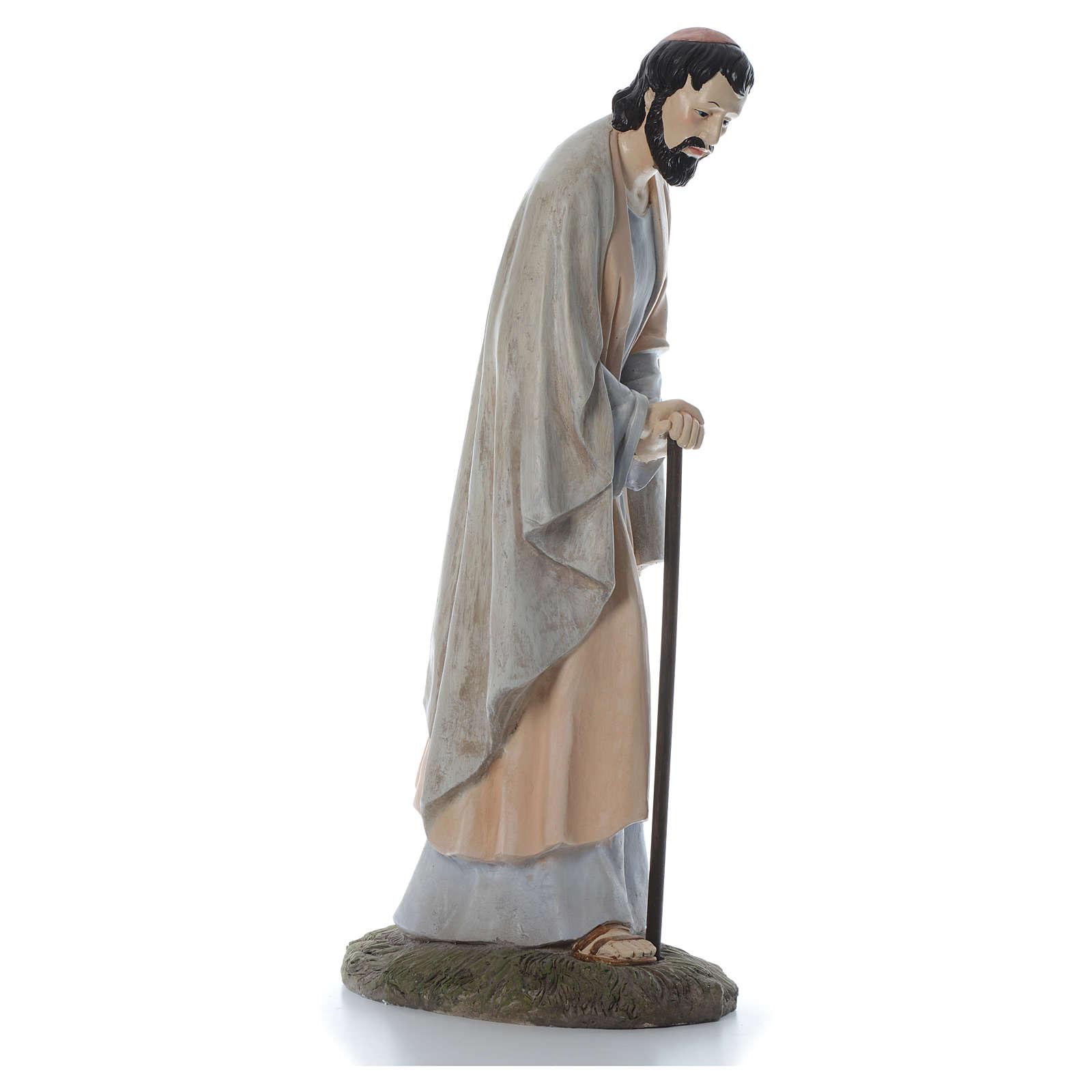 San Giuseppe 120 cm resina Linea Martino Landi 3