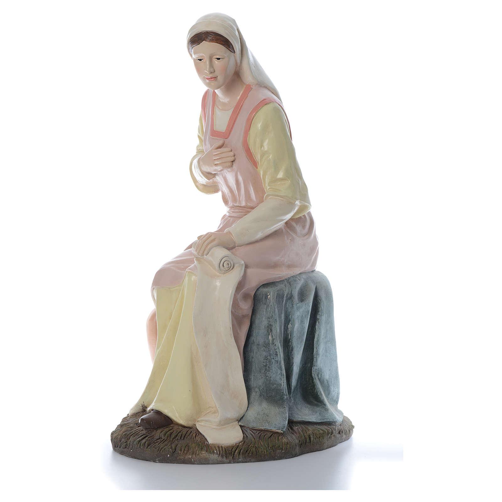 Sainte Vierge 120 cm résine gamme Martino Landi 3