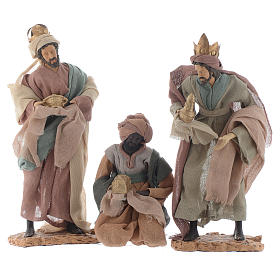 Wise Men and camel for 35cm nativities in resin s2