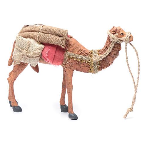 Rey magos y camello 35 cm de altura media resina 10