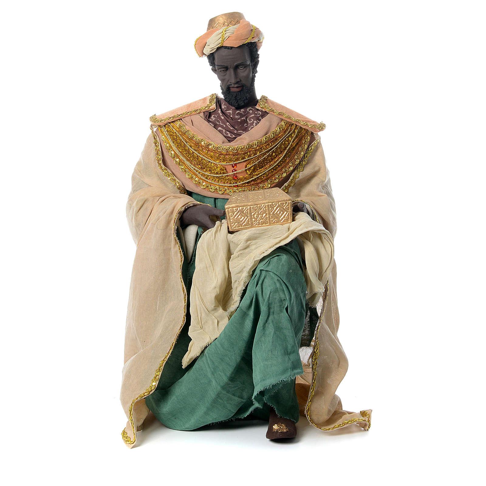 Rey magos 120 cm tela colorida 3