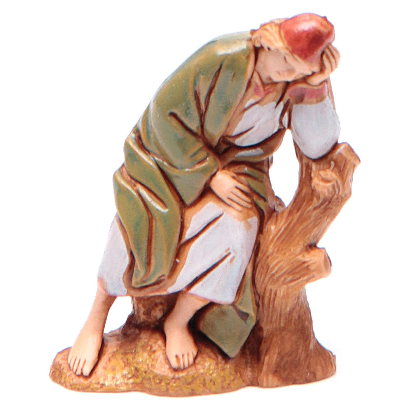 Sleeping shepherd 6.5cm by Moranduzzo, Arabian style 4