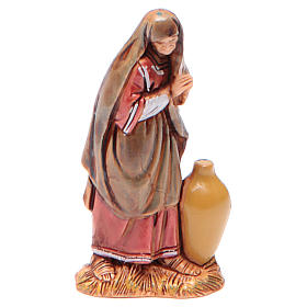 Donna con anfora 6,5 cm Moranduzzo stile arabo s1