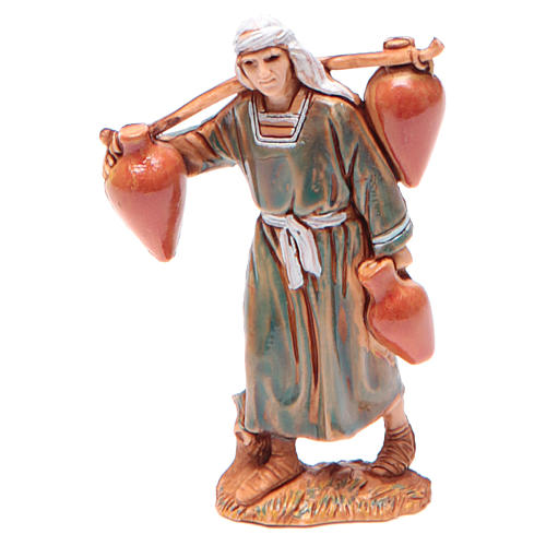 Man carrying water for nativities of 6.5cm by Moranduzzo, Arabian style 1