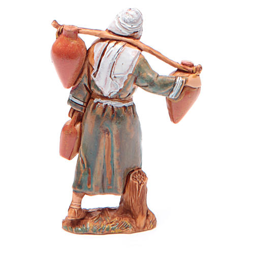 Man carrying water for nativities of 6.5cm by Moranduzzo, Arabian style 2