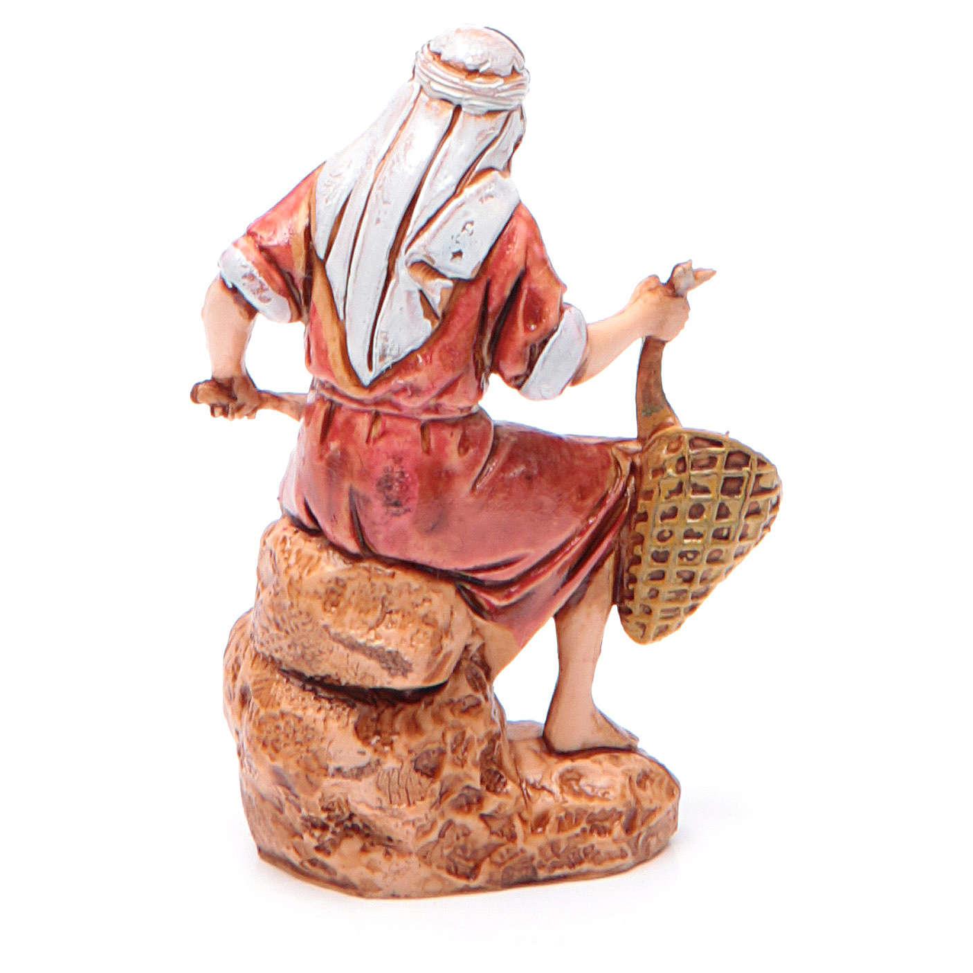 Pescatore 6,5 cm Moranduzzo stile arabo 4
