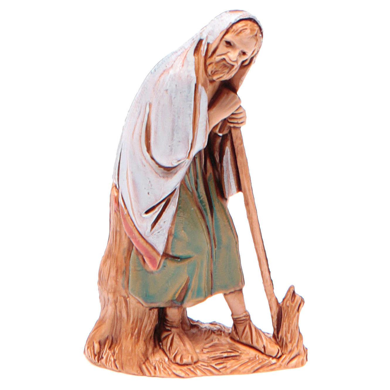 Homme âgé avec canne 6,5 cm Moranduzzo vêtements historiques 4