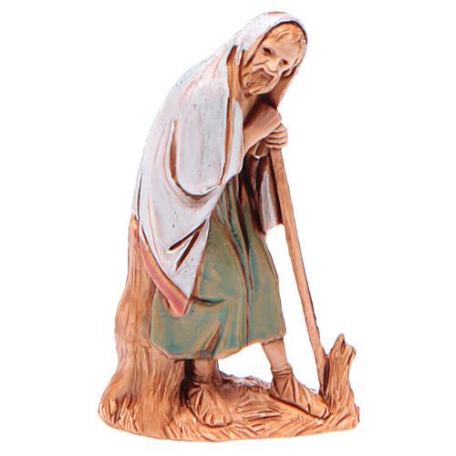 Homme âgé avec canne 6,5 cm Moranduzzo vêtements historiques 1