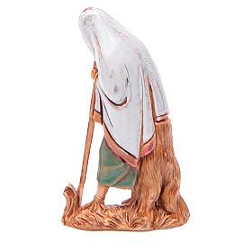 Homem idoso com bastão 6,5 cm Moranduzzo estilo árabe s2