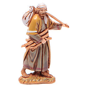 Man carrying wood for nativities of 6.5cm by Moranduzzo, Arabian style s1