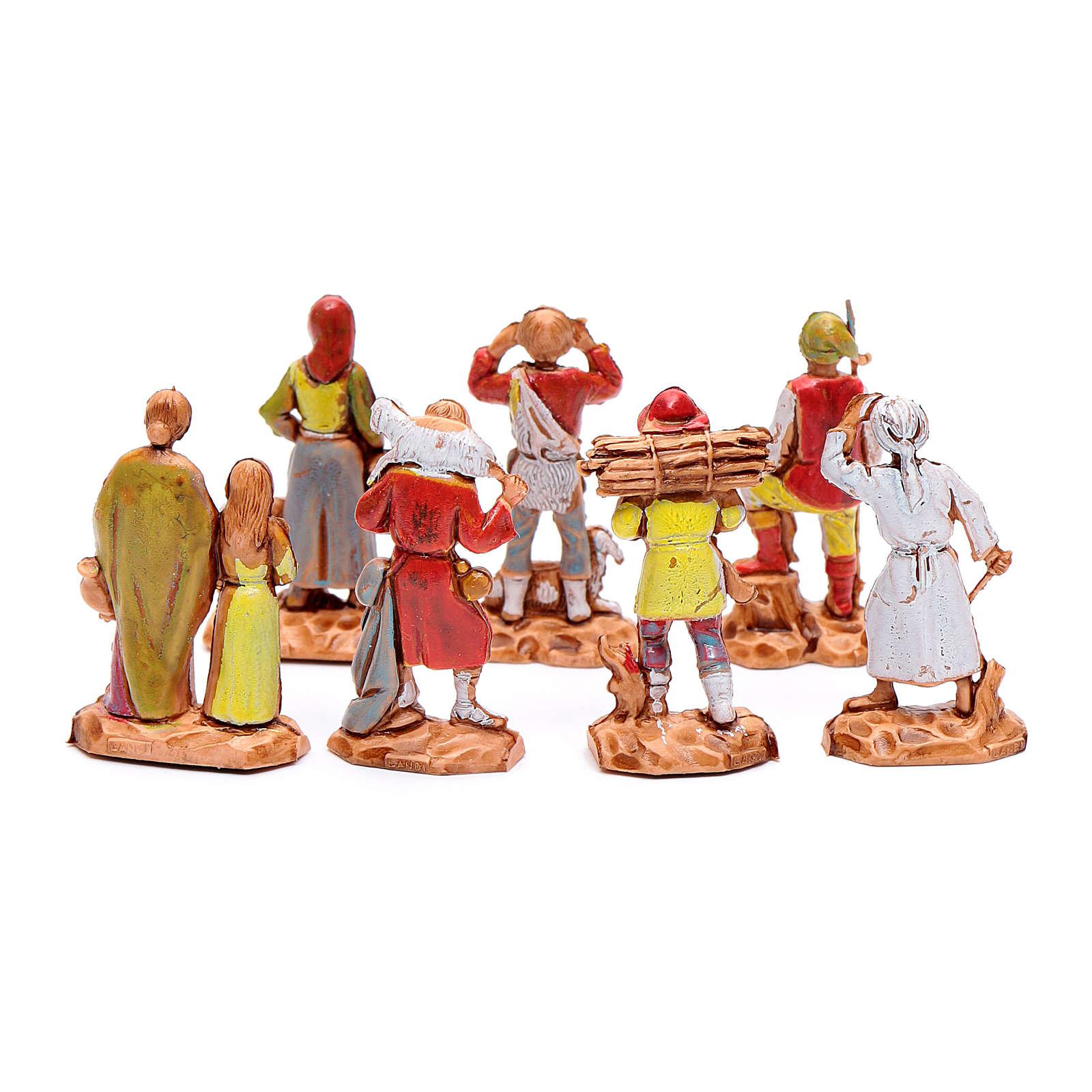 Pastores surtidos cm 3,5 - 7 piezas 4