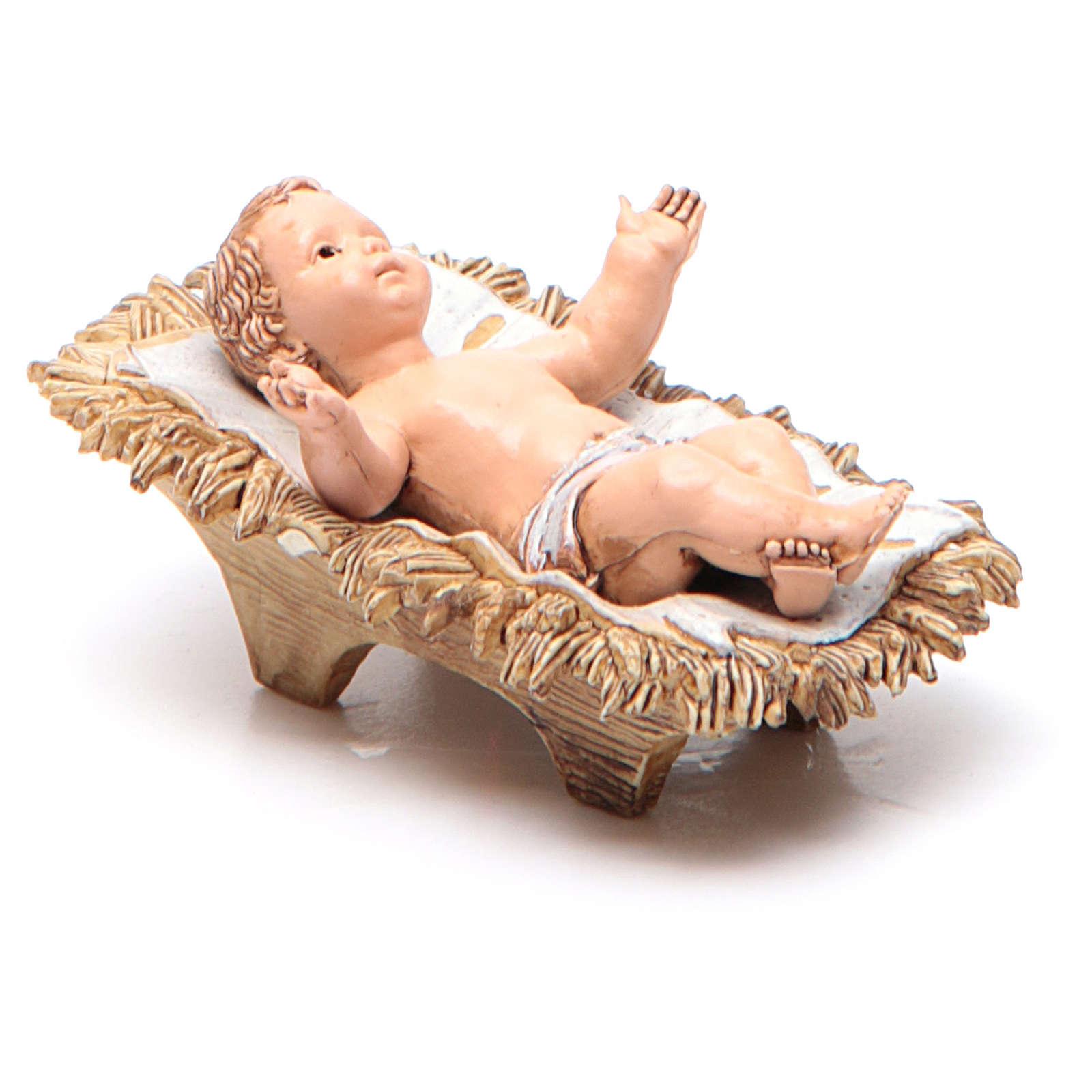 Gesù Bambino 12 cm Moranduzzo linea classica 4