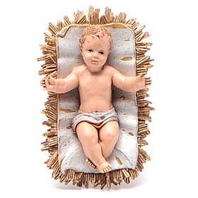 Nativity Scene by Moranduzzo: Baby Jesus figurine by Moranduzzo, classic collection 12cm