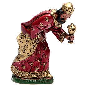 Moranduzzo nativity scene figurine 12cm, mulatto wise king s1