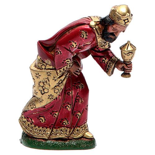 Moranduzzo nativity scene figurine 12cm, mulatto wise king 1