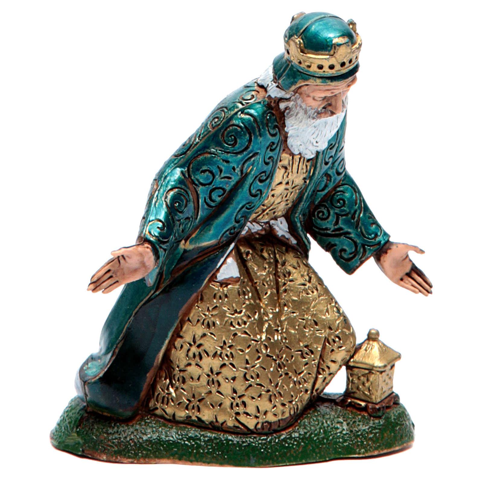 Moranduzzo nativity scene figurine 12cm, white wise king 4