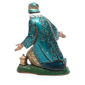 Moranduzzo nativity scene figurine 12cm, white wise king s2