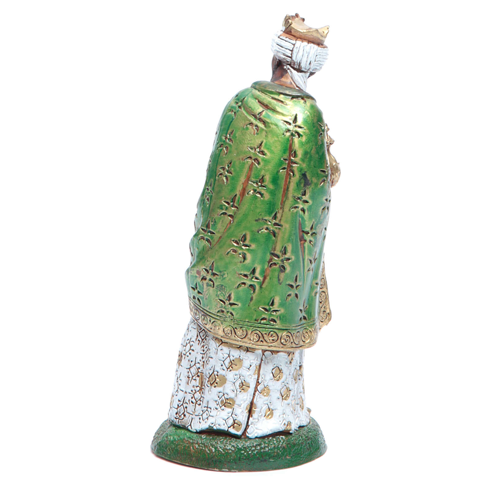 Moranduzzo nativity scene figurine 12cm, black wise king 4