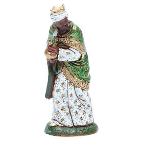Moranduzzo nativity scene figurine 12cm, black wise king s1