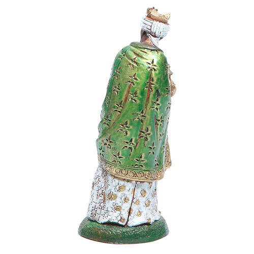 Moranduzzo nativity scene figurine 12cm, black wise king 2