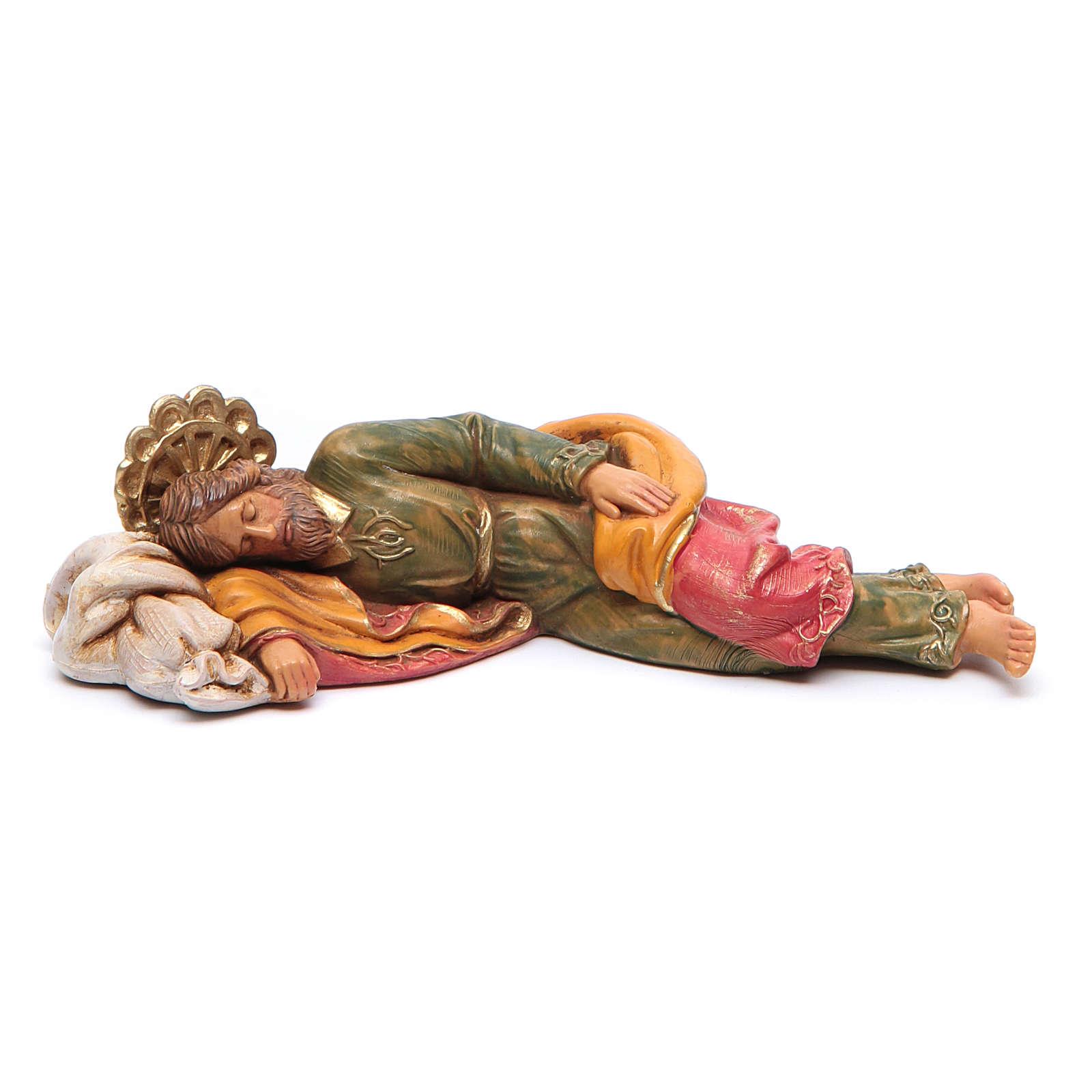 Schlafender Josef 12cm Fontanini 4