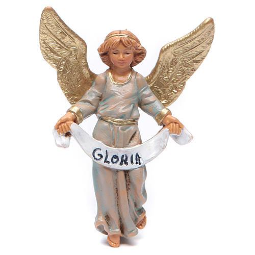 Ángel gloria 9,5 cm Fontanini verde 1