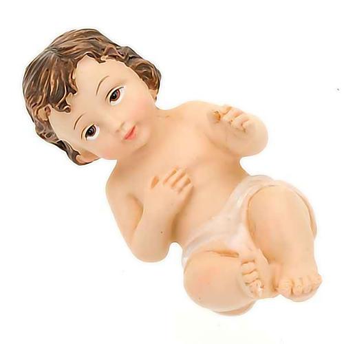 Gesù Bambino resina cm 8 2