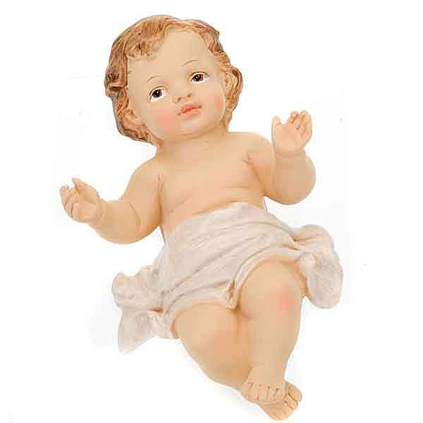 Gesù Bambino resina cm 12,7 3