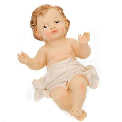 Gesù Bambino resina cm 12,7 1