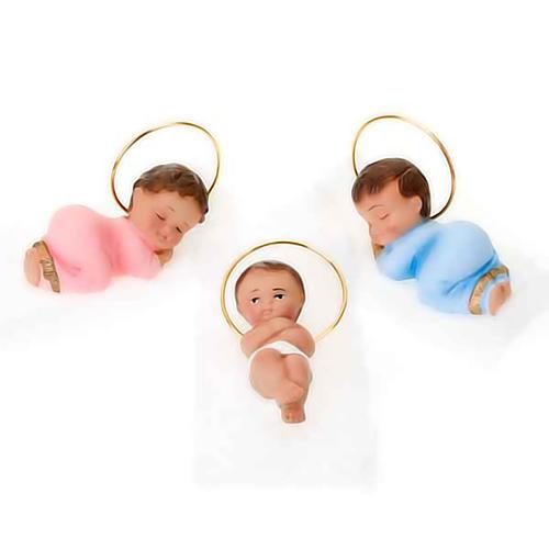 Plaster Baby Jesus, 6 cm 1