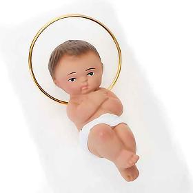 Pequeño niño Jesus yeso 6 cm s2