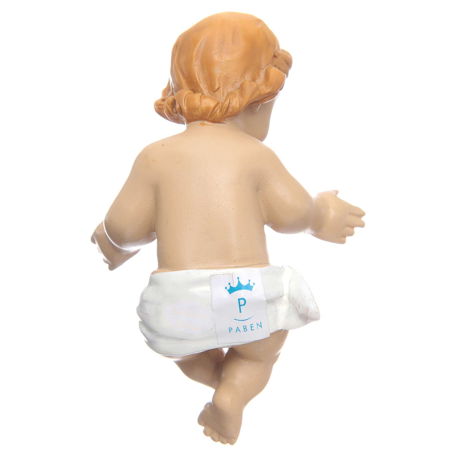 Jésus enfant bénissant résine 10cm 3