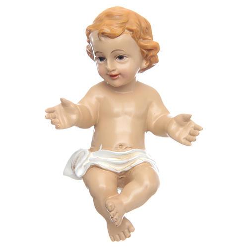 Menino Jesus abençoando resina 10 cm 1