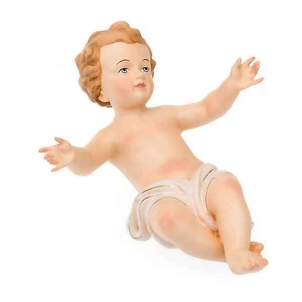 Hand-painted wooden Baby Jesus 4