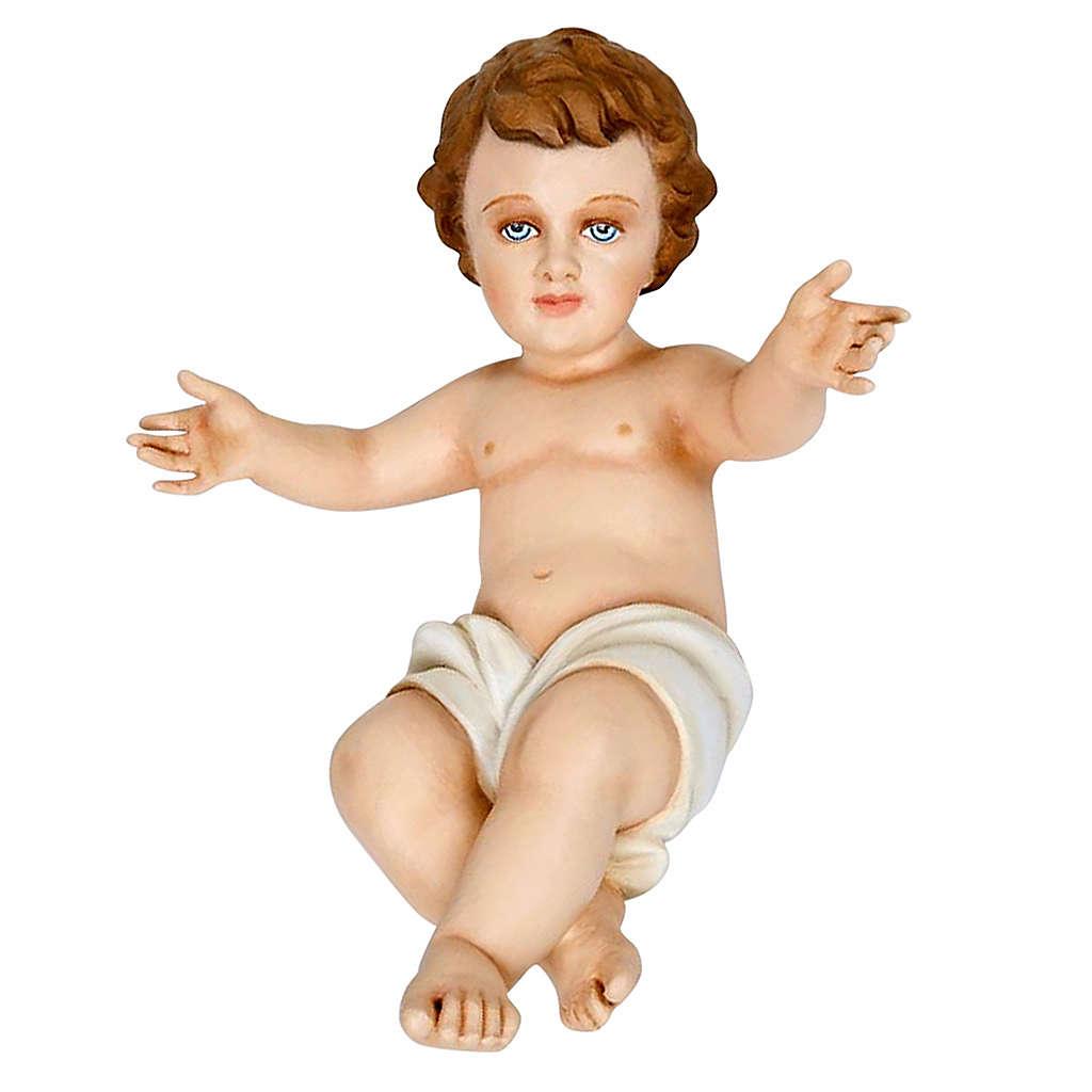 Enfant Jésus fibre de verre 40 cm 4
