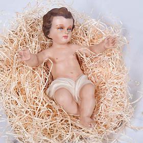 Enfant Jésus fibre de verre 40 cm s2