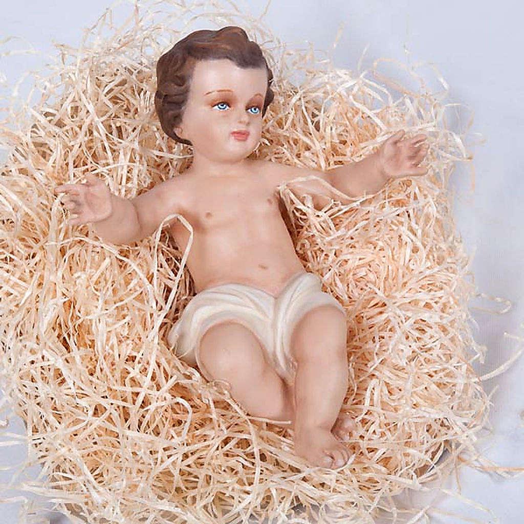 Infant Jesus,  fiberglass statue, 40 cm 4