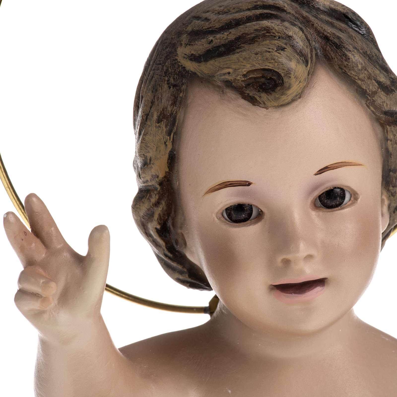 Baby Jesus in plaster, sitting 20cm  3